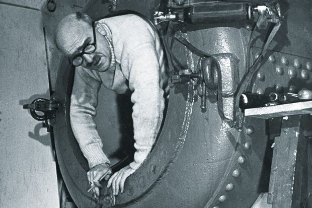 Under pressure: Haldane conducted experiments on the physiological effects of diving Source: Getty